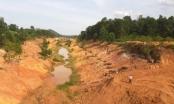 Nghệ An: Kênh trăm tỷ chưa bàn giao đã sạt lở tan hoang