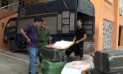 Lào Cai: Bắt giữ lượng lớn trứng gà non và nầm lợn đông lạnh