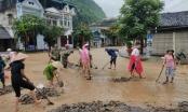 Chùm ảnh: Huyện vùng cao Mèo Vạc, Hà Giang ngập trong nước vì mưa lớn