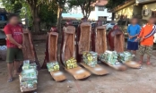 Ngụy trang hàng trăm kg ma túy trong những pho tượng gỗ