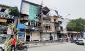 Lửa bốc cháy dữ dội tại chi nhánh ngân hàng Eximbank