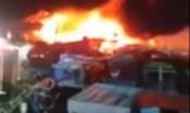 Khánh Hòa: Tàu, xuồng ở cảng cá Đá Bạc bị hỏa hoạn thiêu rụi
