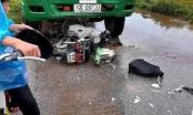 Xe máy đấu đầu xe ben, 2 thanh niên ở Phú Thọ thương vong