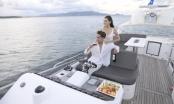 Ngắm cảnh biển trời trên du thuyền triệu USD FLC Albatross: Trải nghiệm đắt giá lần đầu xuất hiện tại Quy Nhơn