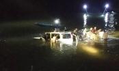 Xe 7 chỗ lao xuống sông sau tai nạn trên cầu treo, 5 người tử vong