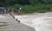 Nghệ An: Người đàn ông bị nước lũ cuốn mất tích khi đi bộ qua cầu tràn để mua gạo