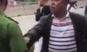 Quảng Ninh: Video ghi lại cảnh người đàn ông chửi bới, văng tục với Công an