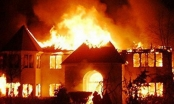 Mâu thuẫn, vợ phóng hỏa đốt nhà để giết chồng rồi tự sát