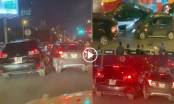 [Clip]: Lexus RX350 và Vinfast Fadil so găng gây náo loạn trên phố Hà Nội