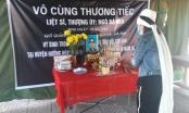 Vợ liệt sỹ nén đau thương chịu tang chồng là chiến sĩ Đoàn 337 tại khu cách ly