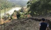 Vết nứt khổng lồ trên triền núi đe dọa san phẳng cả bản làng