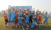 CLB bóng đá Hải Nam vô địch bảng A - Giải bóng đá hạng Ba Quốc gia