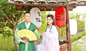 Em trai Quyền Linh chụp ảnh cổ trang kỷ niệm 8 năm ngày cưới