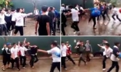 Quảng Ninh: Xuất hiện clip học sinh lớp 10 bị đánh hội đồng