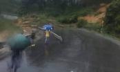 Đắk Lắk: Sạt lở trên Quốc Lộ 26, giao thông bị chia cắt