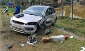 Hà Giang: 2 xe con đấu đầu nhau, 2 người nhập viện