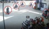Video: Hoa mắt với pha dàn cảnh siêu tinh vi của nhóm trộm cắp xe máy