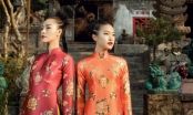 Chị chị em em Thanh Thảo - Hải My đẹp xuất thần trong tà áo dài Tết
