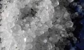 Lai Châu: Bất ngờ xuất hiện mưa đá to như viên bi