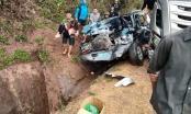 Sơn La: Va chạm giữa xe biển xanh với xe bồn, 7 người thương vong