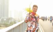 Đàm Vĩnh Hưng diện áo dài hình Hoài Linh, Lệ Quyên đi khắp 3 miền làm MV Tết