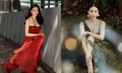 """Hoa hậu Phương Khánh ăn vận gợi cảm, tái xuất showbiz sau thời gian """"bốc hơi"""""""