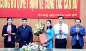 Công bố quyết định về công tác cán bộ của Đài Phát thanh - Truyền hình Hà Giang