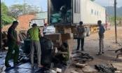 Đà Nẵng: Phát hiện xe container chở hàng hóa không nguồn gốc xuất xứ