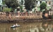 Nhảy xuống sông cứu bạn gái, nam thanh niên mất tích