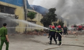Thanh Hóa: Cháy lớn tại Công ty may xuất khẩu IVORY