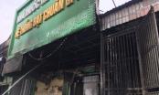 Ki ốt trong chợ ở Nghệ An bốc cháy dữ dội