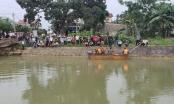 Cùng bạn tắm kênh, học sinh lớp 6 ở Nghệ An bị nước cuốn mất tích
