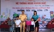 """CSGT thị xã Bỉm Sơn tuyên truyền pháp luật """"An toàn giao thông cho nụ cười trẻ thơ"""""""