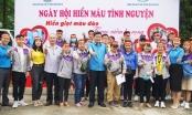 Ấn tượng hình ảnh người lao động KKT Đông Nam hiến máu tình nguyện