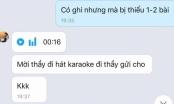 Nhắn tin gợi ý nữ sinh đi hát, nhân viên trung tâm thể hình bị sa thải