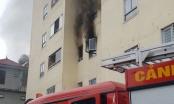 Cháy tại tầng 3 chung cư Trường Thịnh ở Nghệ An