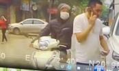 Video: Tên cướp liều lĩnh giật phăng dây chuyền của người đàn ông giữa ban ngày