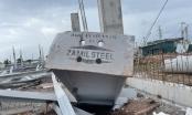 Quảng Ninh: Kinh hoàng cảnh nhà xưởng bằng khung sắt khổng lồ bất ngờ đổ sập