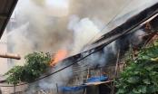 Cháy dữ dội tại quán bánh canh ở trung tâm TP Vinh