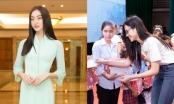 Dự án tặng tivi của Hoa hậu Lương Thuỳ Linh chính thức khởi động