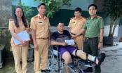 Công An Nghệ An: Thăm hỏi, động viên cán bộ phòng CSGT bị thương khi làm nhiệm vụ