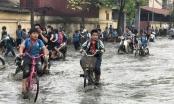 1.400 học sinh buộc nghỉ học vì doanh nghiệp xả thải bẩn gây ngập trường