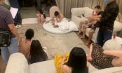 Nghệ An: Bắt quả tang nhóm nam thanh nữ tú tụ tập sử dụng ma túy trong căn biệt thự
