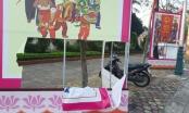 Nghệ An: Truy tìm thủ phạm phá hoại cụm tranh cổ động bầu cử các cấp