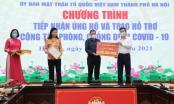 Nhiều cá nhân, tổ chức ủng hộ công tác phòng, chống dịch Covid-19 trên địa bàn Hà Nội