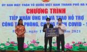 Sunshine Homes ủng hộ công tác phòng, chống dịch Covid-19 số lượng 250.000 khẩu trang