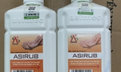 300 chai nước sát khuẩn tay giả mạo nhãn hiệu ASIRUB vừa bị thu giữ tại chợ thuốc Hapulico
