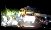 [Video]: Cảnh sát nổ súng vây bắt nghi phạm buôn ma túy như phim hành động
