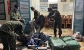 Bộ đội Biên phòng An Giang thu giữ 4.000 bao thuốc lá ngoại nhập lậu