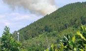 Nghệ An: Trời nắng nóng, lửa bùng phát trên núi Nguộc huyện Thanh Chương